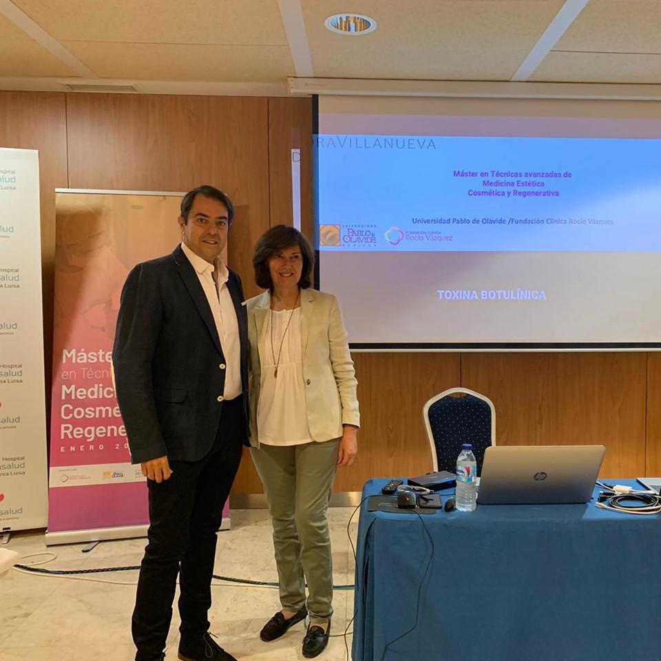 Con el Dr Moisés Rodríguez Abascal - Sevilla