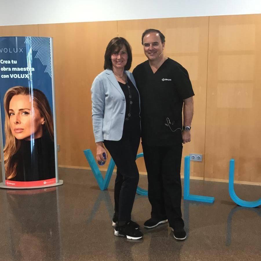 Con el Dr Urdiales - Madrid