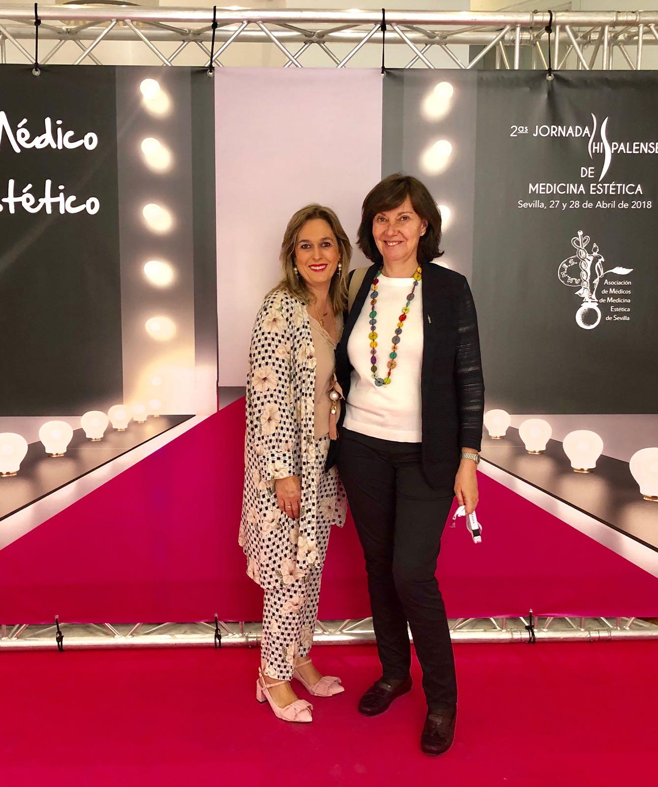 Con la Dra Encina Sánchez Jornadas Hispalenses 2018