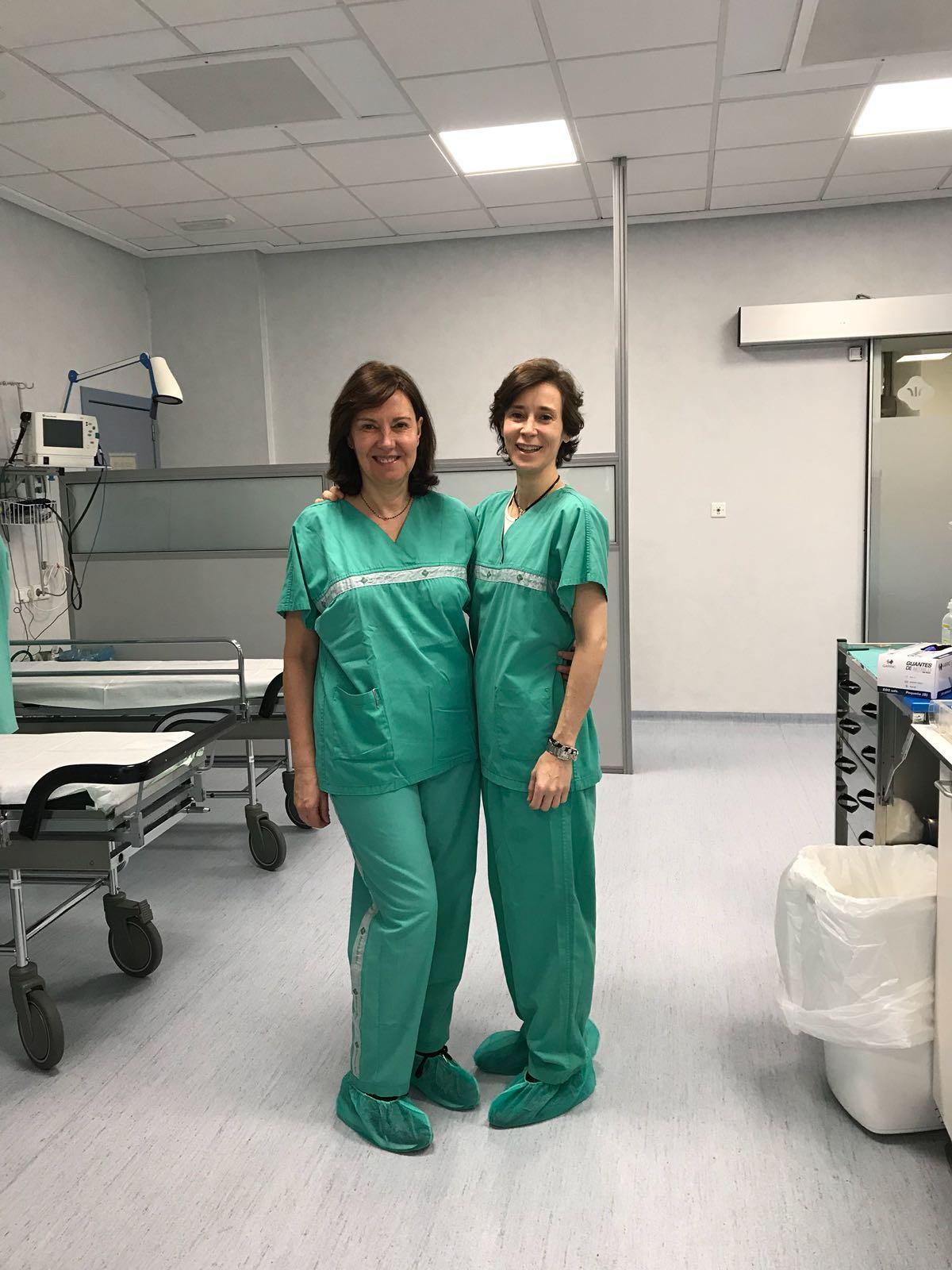 Con la Dra Ruiz del Cueto Master Valencia 2018