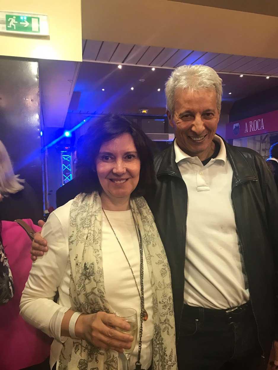 Con Mi amigo el Dr Lakdar Belaouhari Monaco 2017