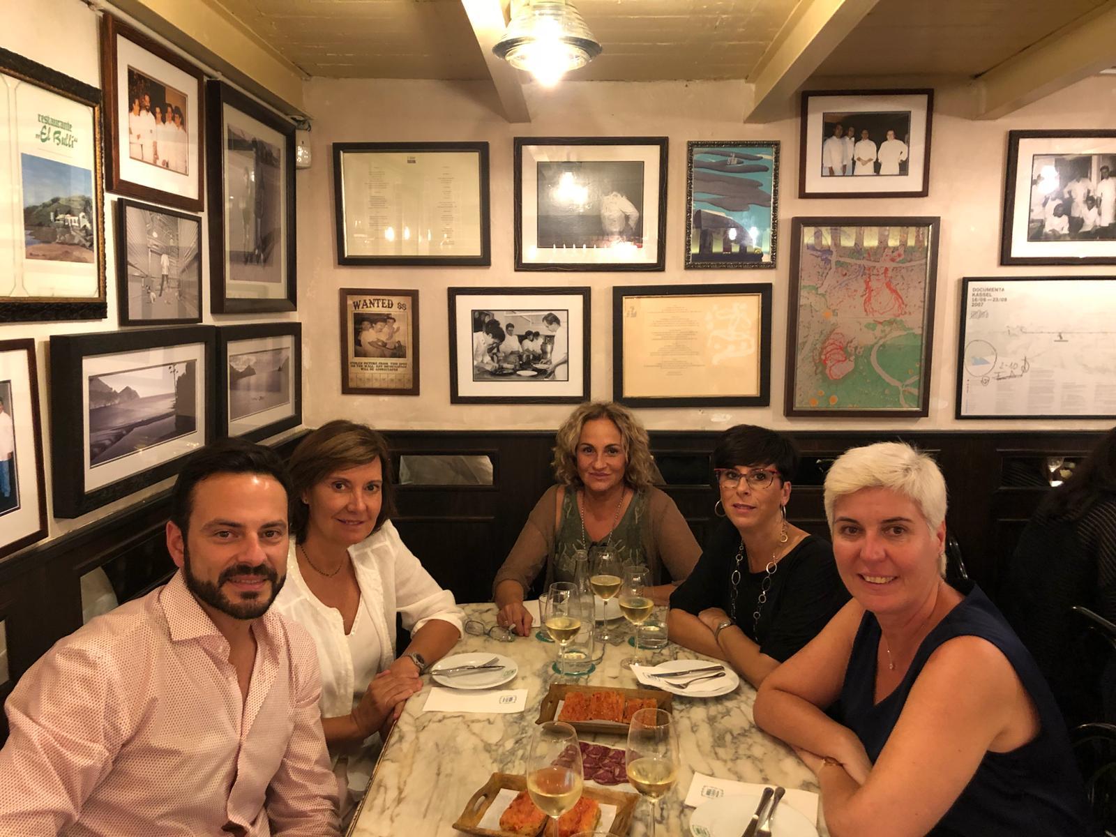 Cena celebrando los 7 años de mi consulta - Barcelona 2018