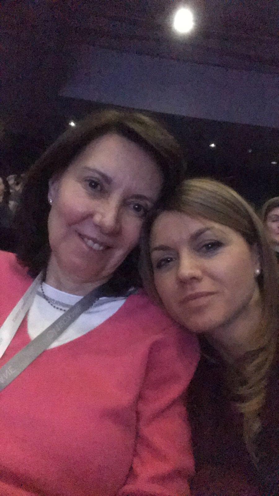 Con la Dra Iratxe Díaz - 2018