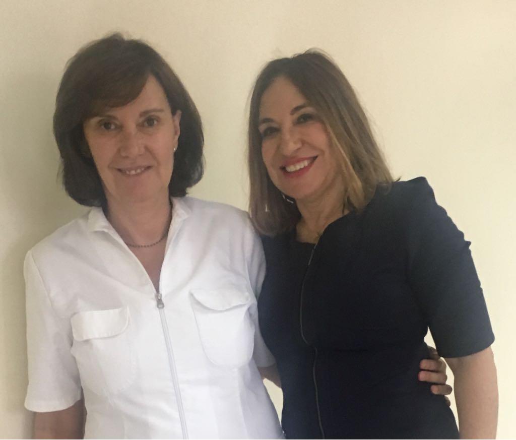 La Dra. Villanueva con la Dra. Madam - Tenerife 2018